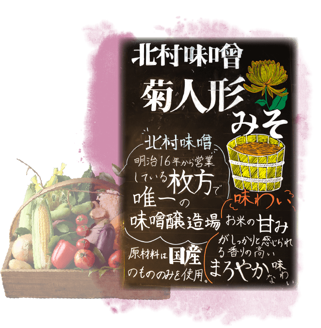 菊人形味噌