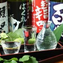 【日本酒premium飲み放題付】『日本酒堪能コース(7品) 5,000円』
